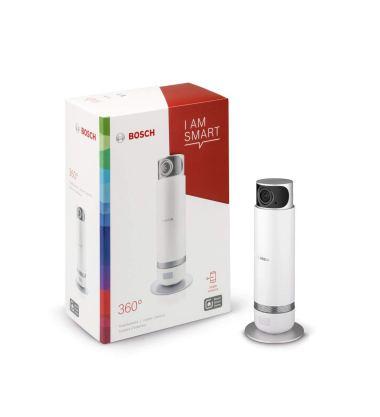 smart caméra de surveillance bosch camera 360 dans sa boite