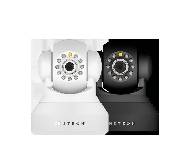 image illustrant deux caméras de surveillance sans fil wifi