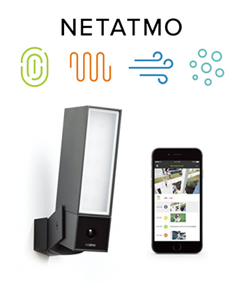 caméra de surveillance netatmo presence
