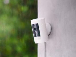 photo de la camera de surveillance Ring Stick Up Cam