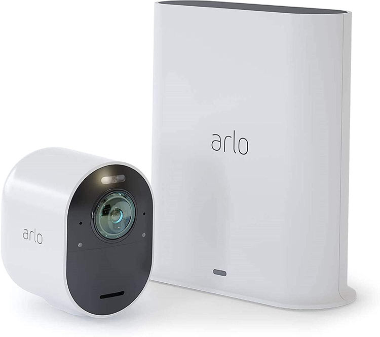 photo de la camera de surveillance arlo pro
